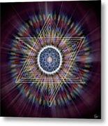 Sacred Geometry 317 Metal Print