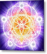 Sacred Geometry 67 Metal Print