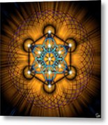 Sacred Geometry 68 Metal Print