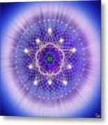 Sacred Geometry 69 Metal Print