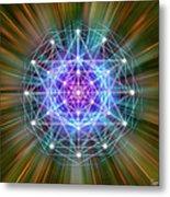 Sacred Geometry 72 Metal Print