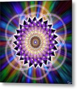 Sacred Geometry 74 Metal Print