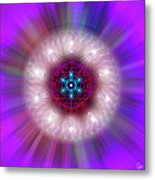 Sacred Geometry 76 Metal Print