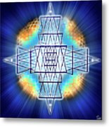 Sacred Geometry 86 Metal Print