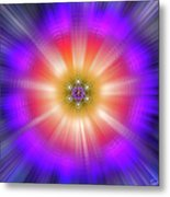 Sacred Geometry 90 Metal Print