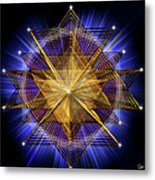 Sacred Geometry 91 Metal Print