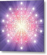 Sacred Geometry 92 Metal Print