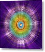 Sacred Geometry 96 Metal Print