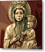 Sacred Icon Metal Print