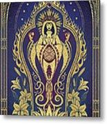Sacred Mother - Global Goddess Series Metal Print by Cristina McAllister