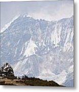 Sacred Mountain Metal Print