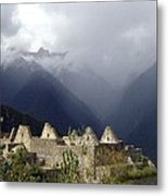 Sacred Mountain Echos Metal Print