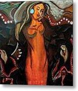 Sacred Prayer Dance Metal Print