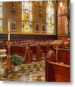 Sacred Space - Our Lady Of Mt. Carmel Church Metal Print