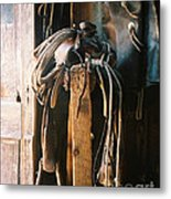 Saddle And Chaps Metal Print