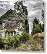 Saddle Store 3 Of 3 Metal Print by Jason Politte