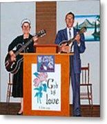 Sadie And Lawrence Sing For Jesus Metal Print