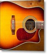 Saehan Guitar Body Metal Print