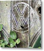 Safari Fence Metal Print