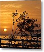 Safety Harbor Sunrise Metal Print