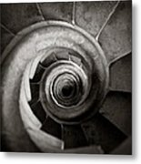 Sagrada Familia Steps Metal Print
