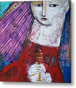 Sagrado Corazon Metal Print