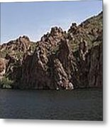 Saguaro Lake Metal Print