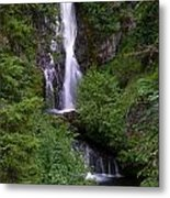 Sahale Falls In Oregon Metal Print