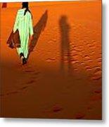Sahara Desert Bedouin Metal Print by Arie Arik Chen