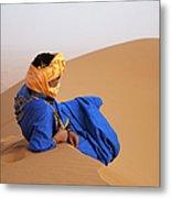 Sahara Desert, Morocco Metal Print