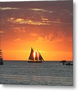 Sail Away Metal Print by Richard Mitchell