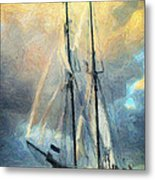 Sail Away To Avalon Metal Print by Taylan Apukovska
