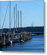 Sail Boats Metal Print