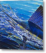 Sail On The Reef Off0082 Metal Print