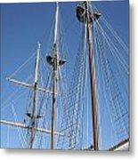 Sail Rigging Metal Print