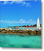 Sail With Dream Metal Print