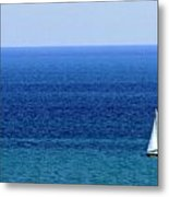 Sailboat 1 Metal Print
