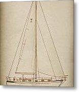 Sailboat 42 Metal Print