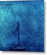 Sailboat As A Painting Metal Print