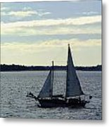 Sailin Metal Print