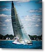 Sailing 97045 Metal Print