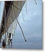 Sailing A Skipjack Metal Print