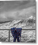 Sailing Around South West Cape Of Tasmania Metal Print