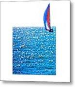 Sailing Metal Print by Brian D Meredith