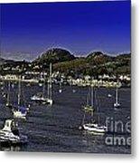 Sailing Conwy Harbor Metal Print