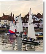 Sailing Home Metal Print by Trevor Wintle