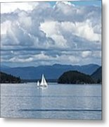 Sailing In The San Juans Metal Print