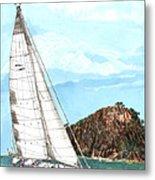 Bay Of Islands Sailing Sailing Metal Print
