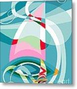 Sailing Race Metal Print