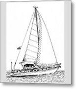 Sailing Sailing Sailing Metal Print